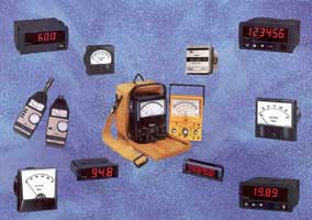 Simpson electrical meters and testers.