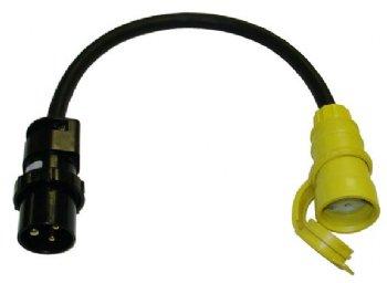Marina Plug 15amp U Ground Adapter 15apmp