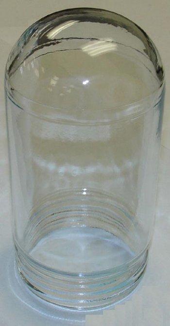 "VAPORPROOF GLASS GLOBE 7"" CLEAR (700)"