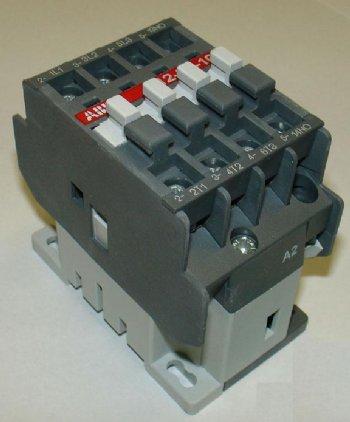 ABB CONTACTOR, 11 AMP, 3-POLE, 480VAC, A12-30-10-51 on