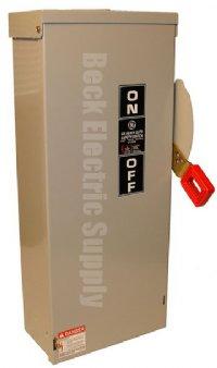 Safety Switch 60a 3p 600v Nema 3r Ge Th3362r