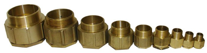 Terminal Tube Brass Male 1 Quot M100 Inx1508 M6