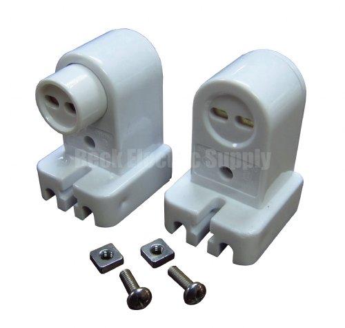 Lampholder Set For T5 T8 T12 Bi Pin Linear Fluorescent