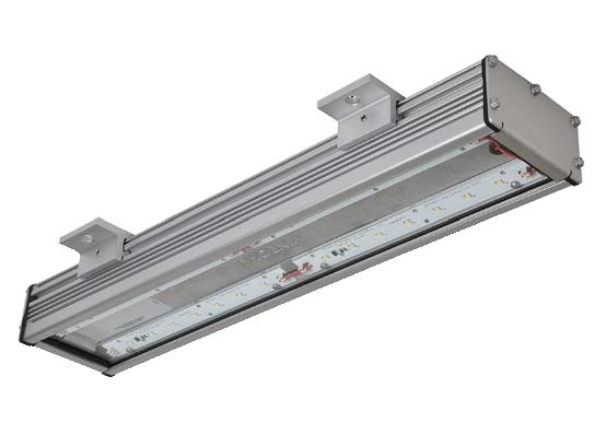 Led walkway light low profile linear surface mount for Electric walkway lights