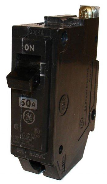 Circuit Breaker 50a 1p 10kaic Ge Thqb1150
